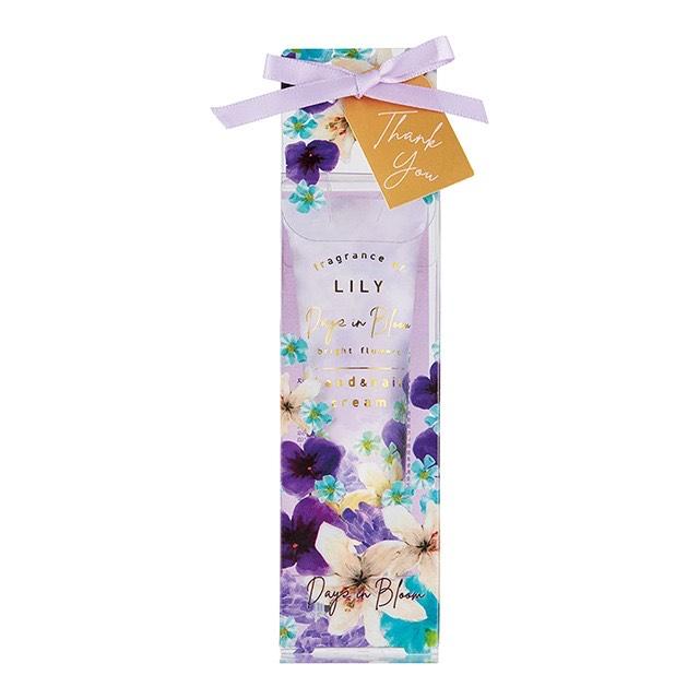 デイズインブルーム bright flowers ハンド&ネイルクリーム リリー